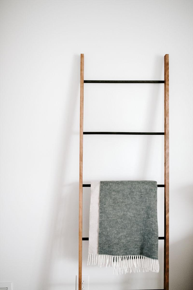 Copper or Wood Ladder - $80