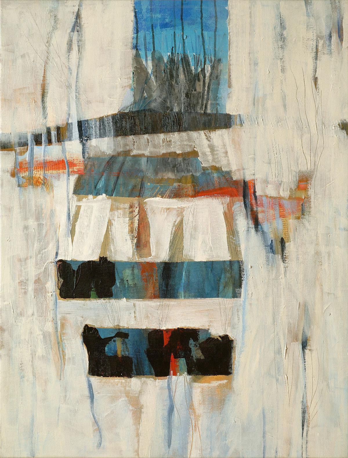 Papier kraft aux plumes, 2008