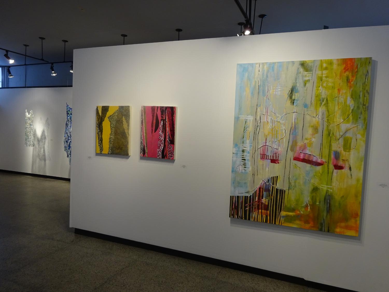 Morceaux à morceaux , Galerie Arts Sutton, avril 2017.