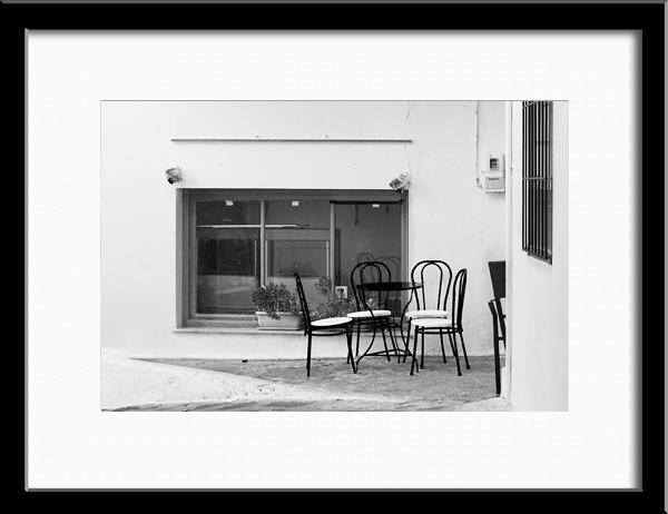 Chairs, Skopelos