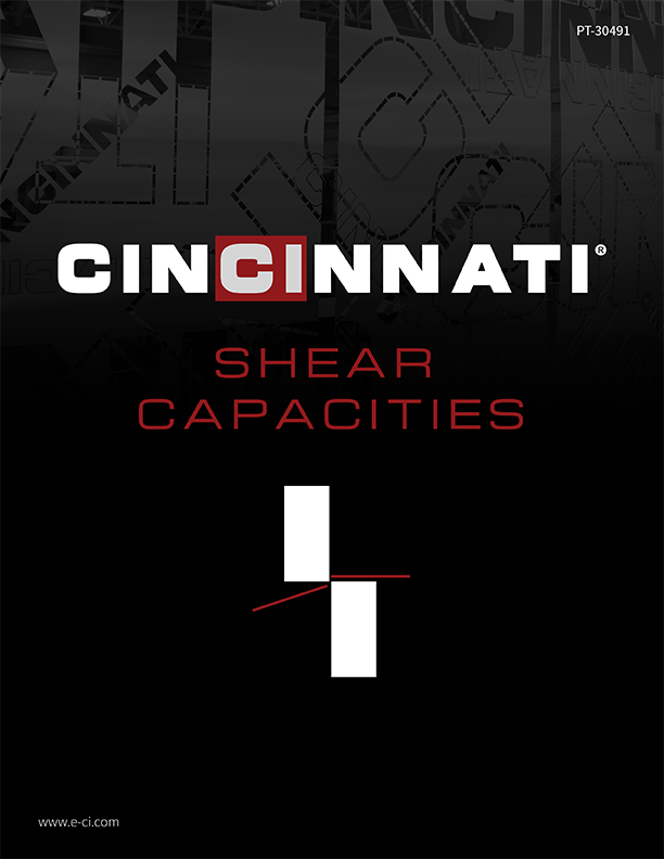 Shear Capacities Brochure