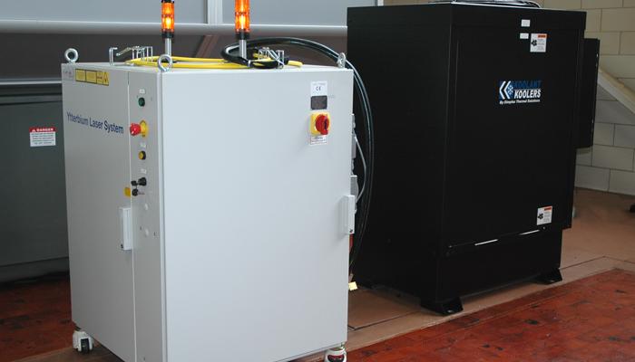 Fiber Power Source & Chiller Unit