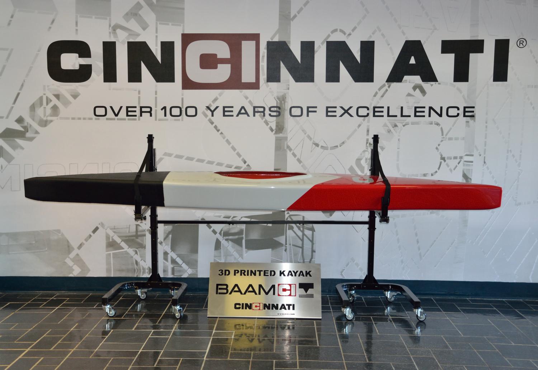 BAAM 3D Printed Kayak