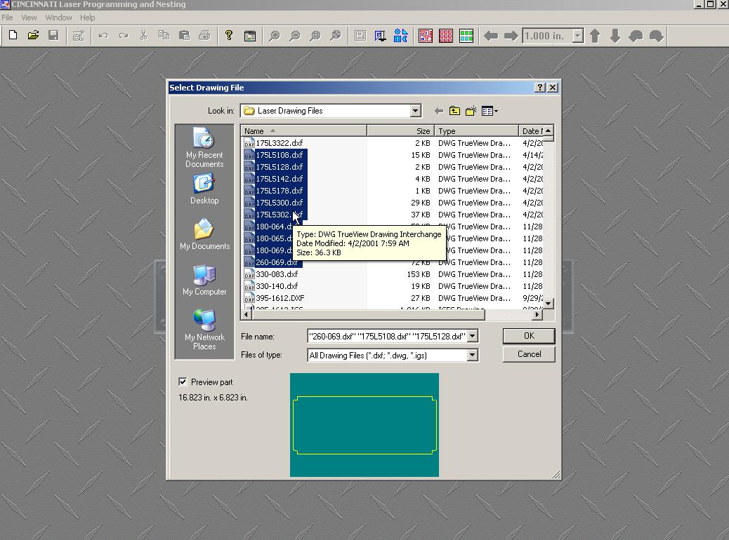 Convert Batch File Screen