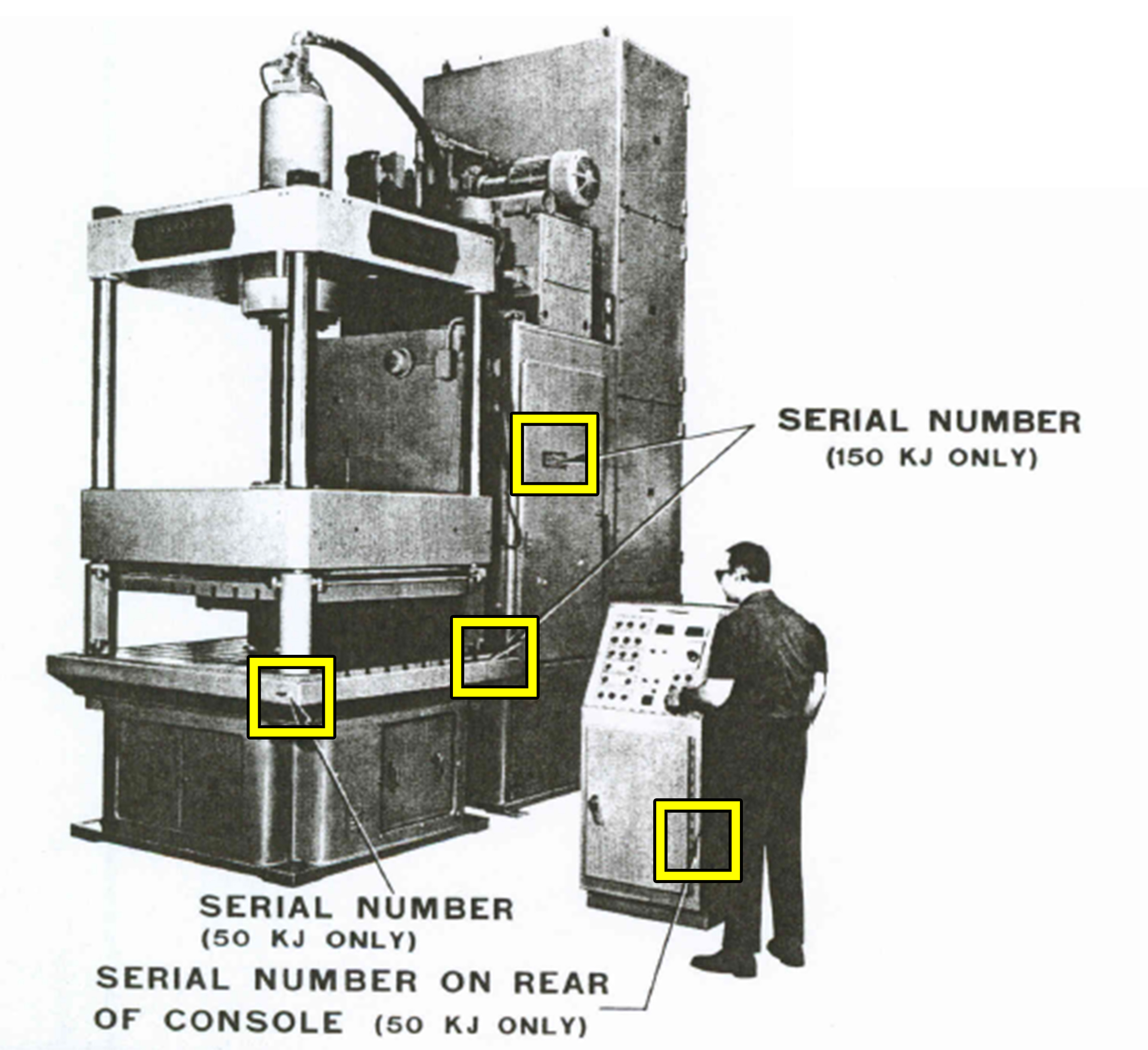 Electroshape Serial Number Location