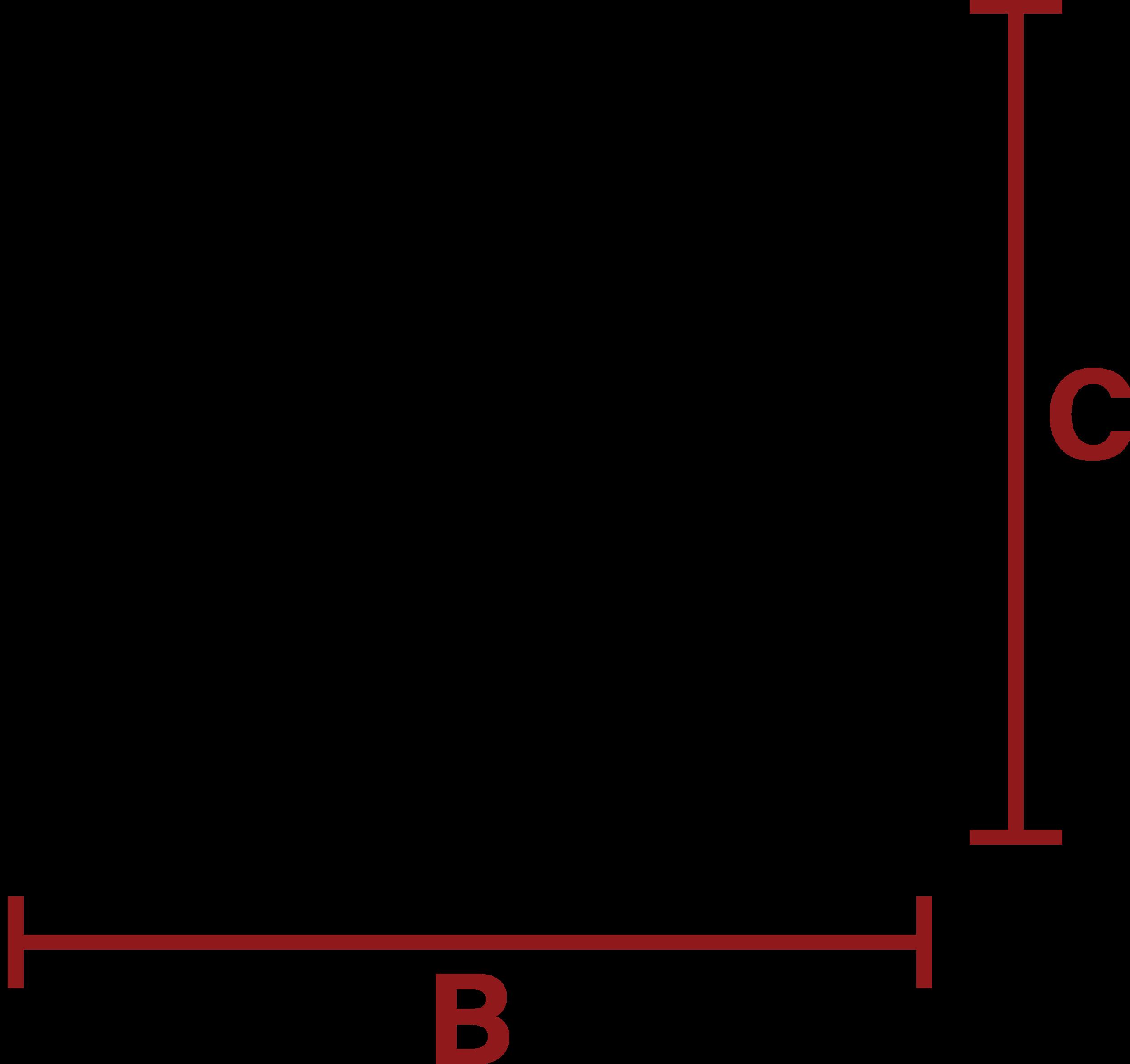BAAM Dimension Outline (rear)