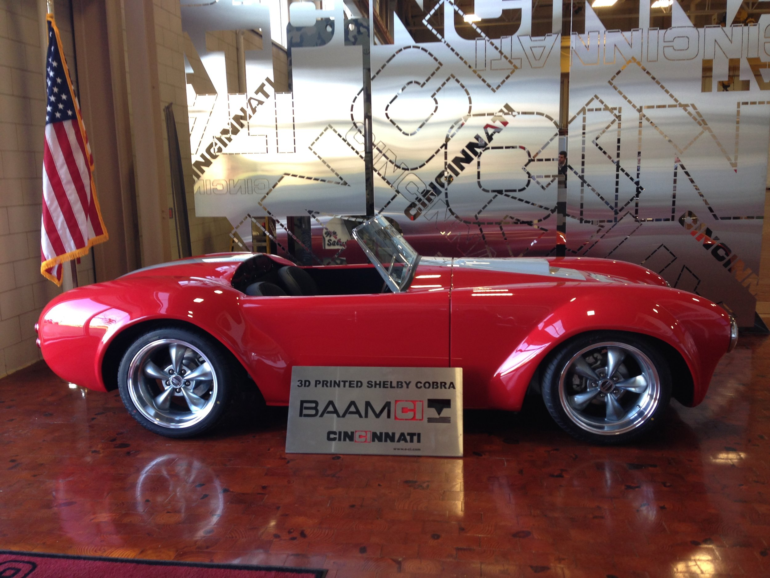 BAAM 3D Printed Shelby Cobra