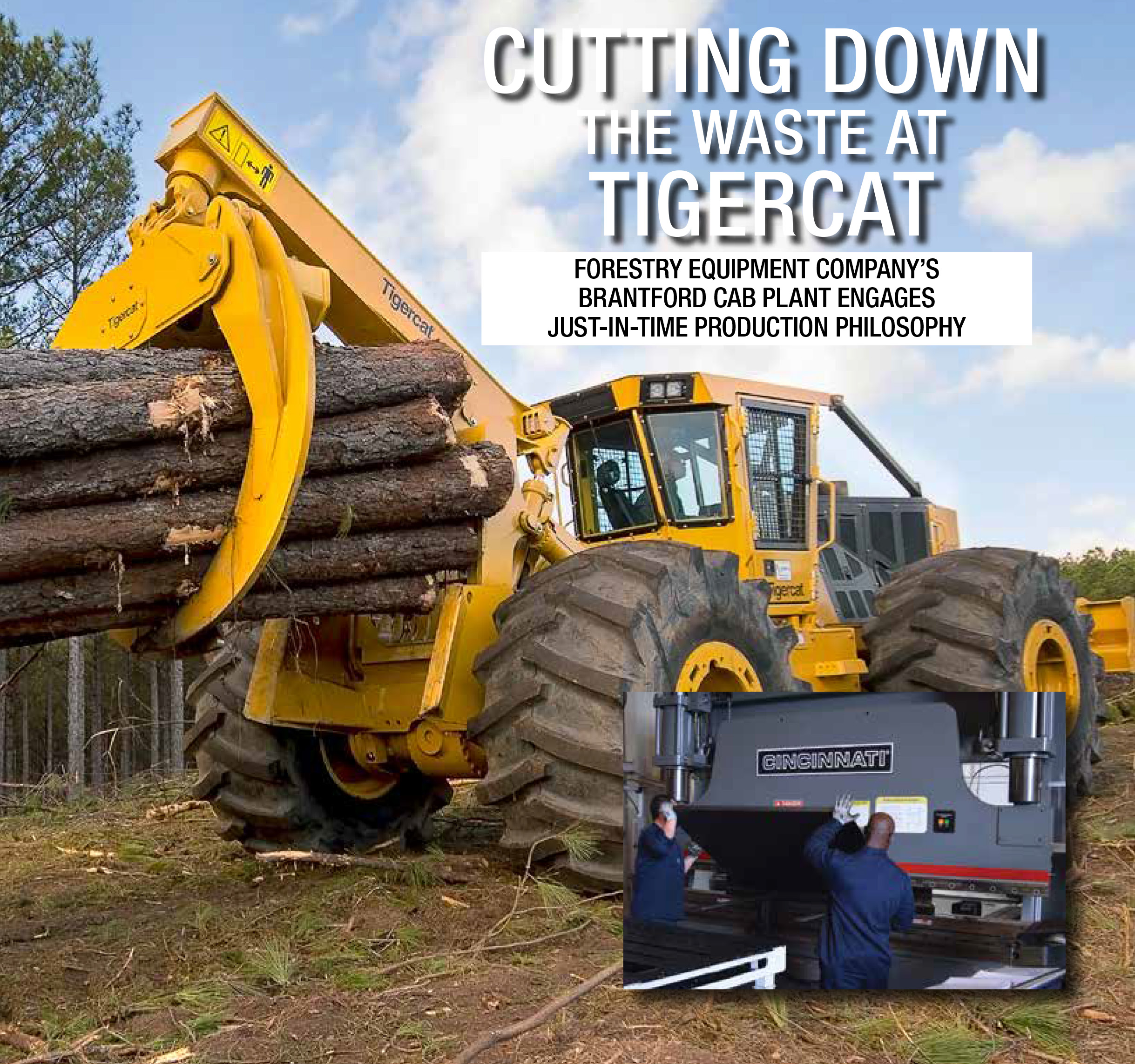 Cutting Down the Waste at Tigercat cover page