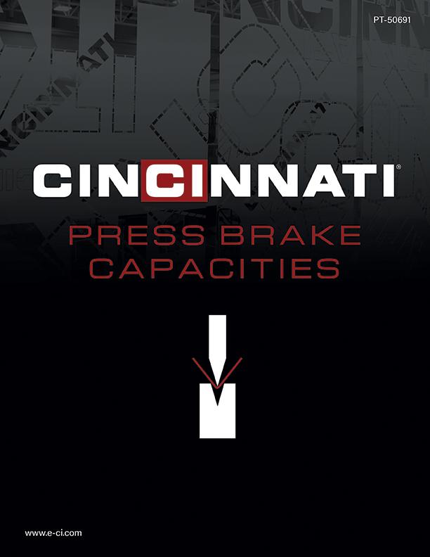 Press Brake Capacities Brochure