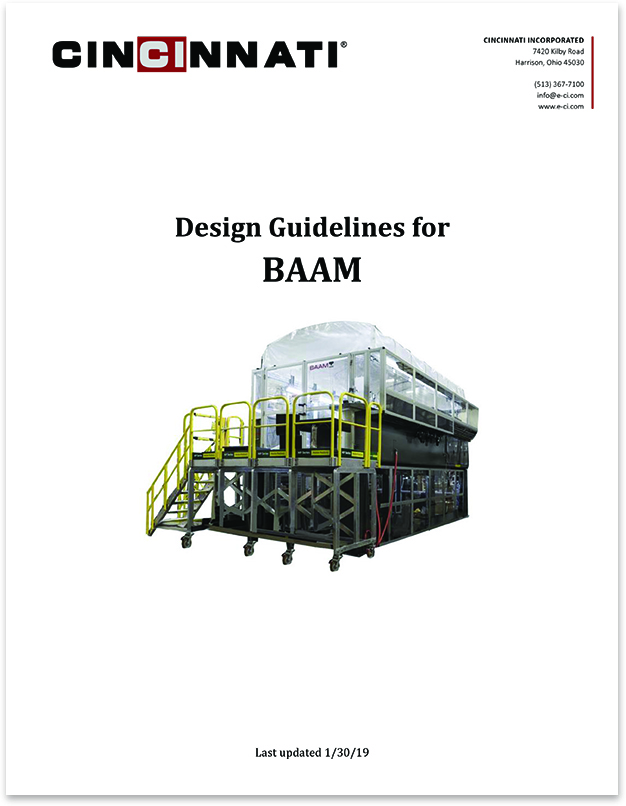 BAAM Design Guidelines - Follow these steps to ensure your design comes out perfect!