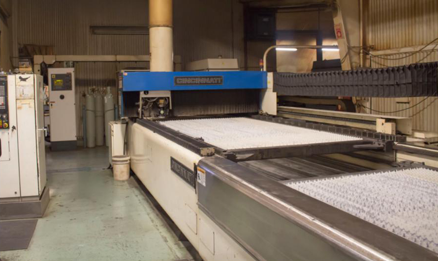 CFI's oldest laser from 1987 is a CI CL 7, a 1.2-kW CO2 laser. Even as newer models are purchased, the senior machine is still a valuable workhorse on the company's shop floor.