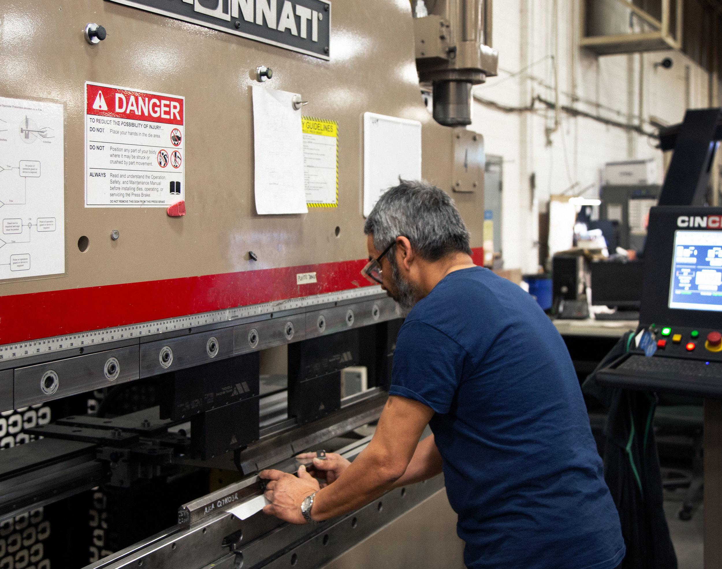 Why Detronic Opts For Cincinnati Press Brakes — Cincinnati