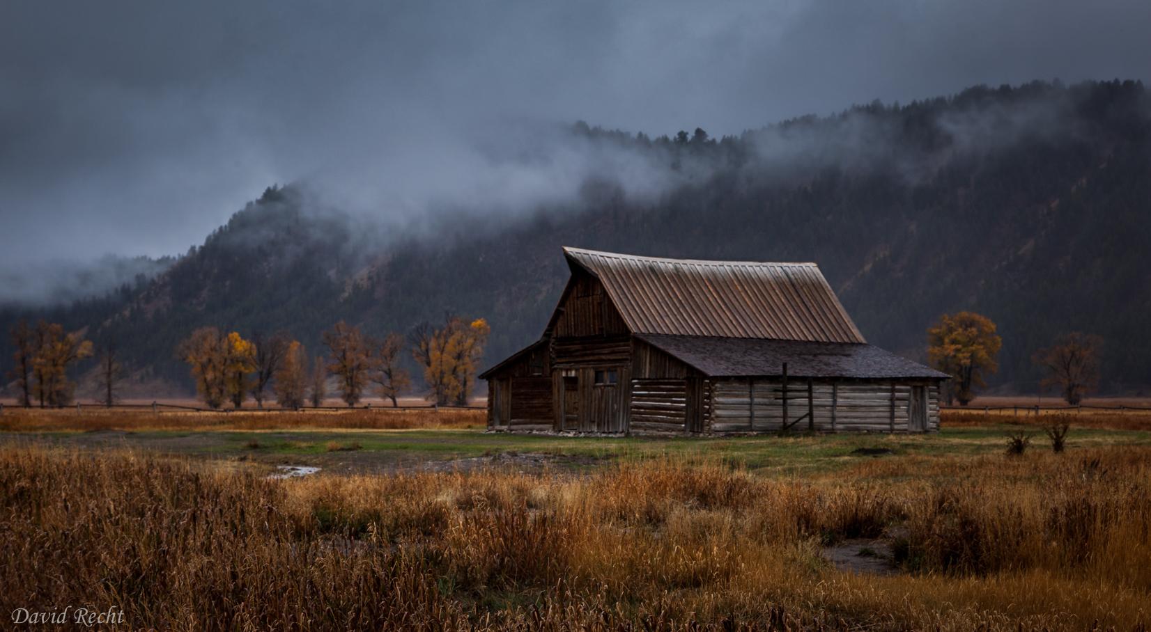 Mormon Barn Fog