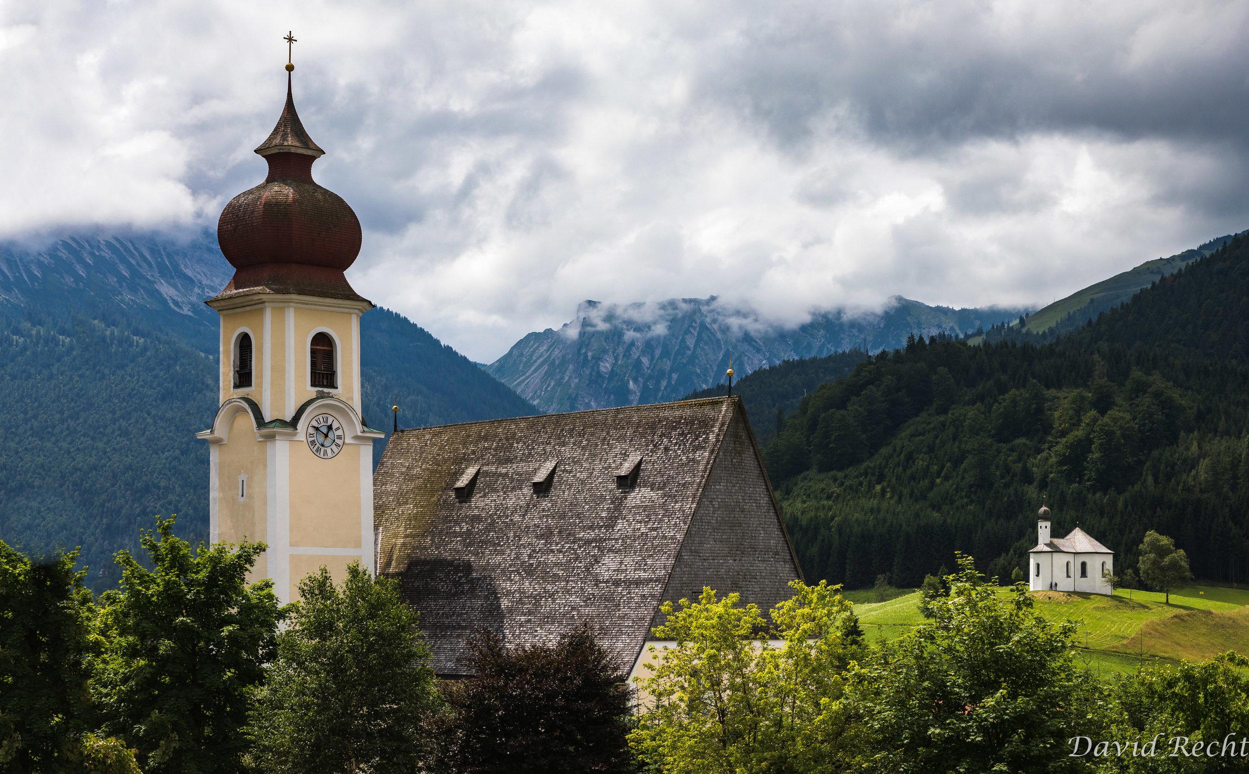 Two Churches of Achenkirch