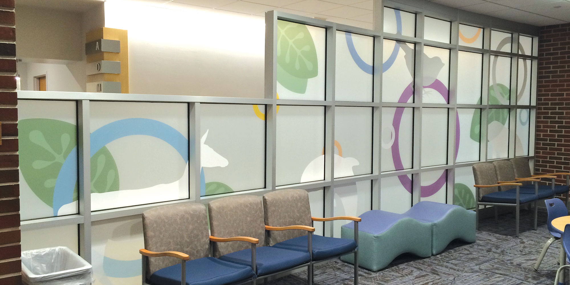 neutral7 design double layered window graphics