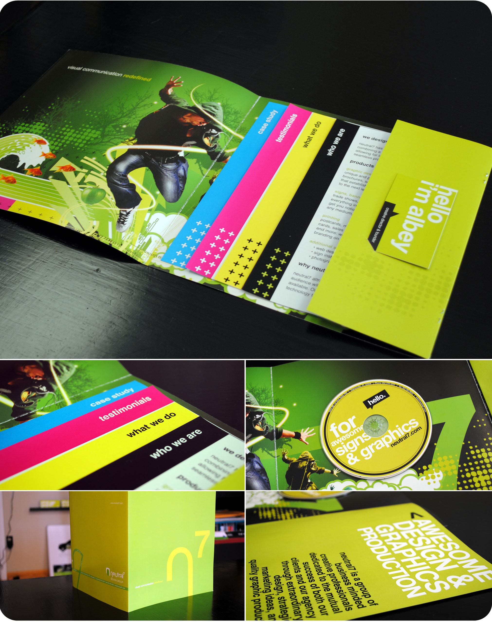 neutral7 graphic design gainesville brochure booklet printing