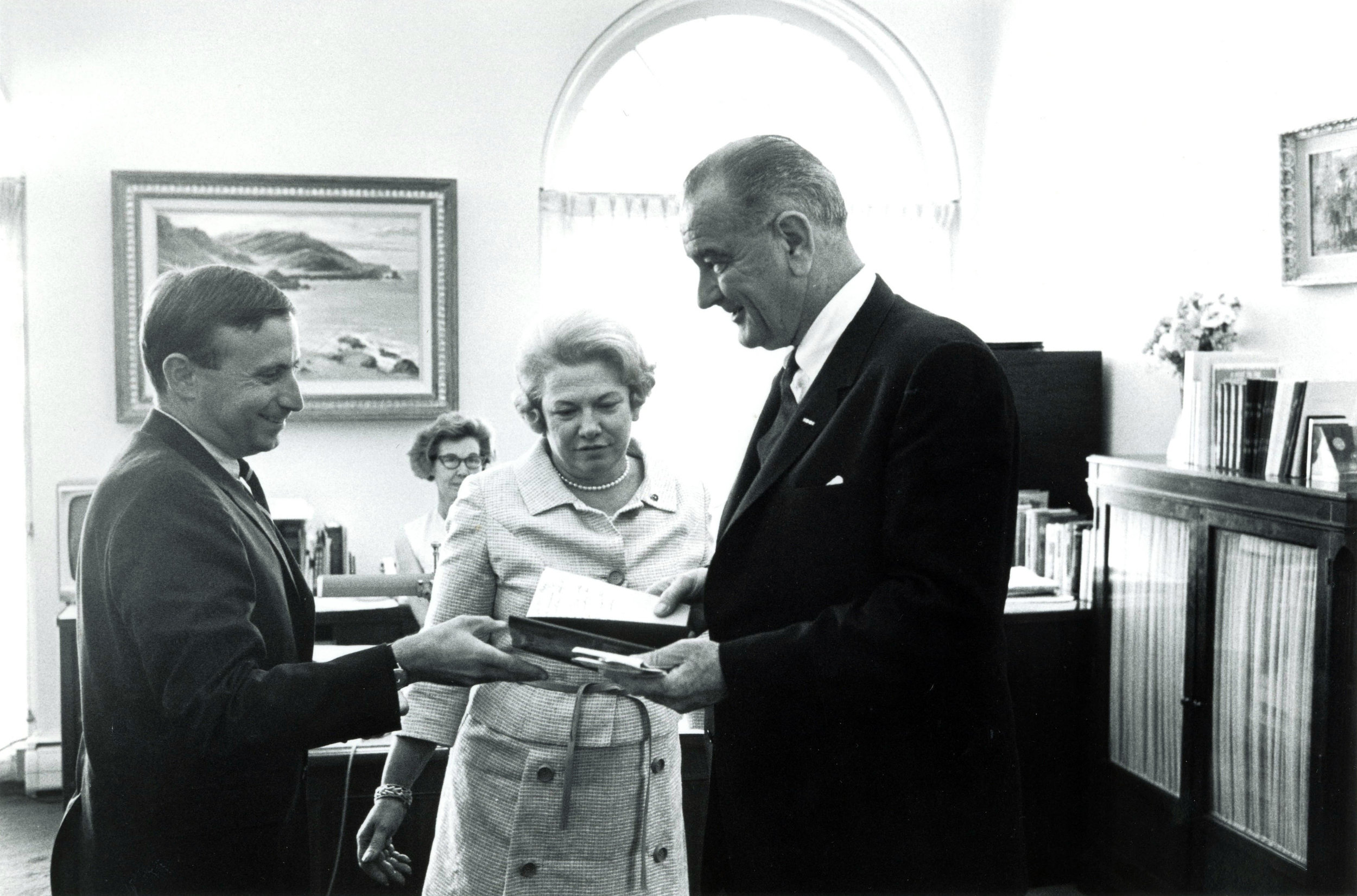 Credit: LBJ Library Photo