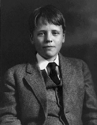 Quentin (shown here at age 13) was as gifted intellectually as his father and sailed through Groton and Harvard