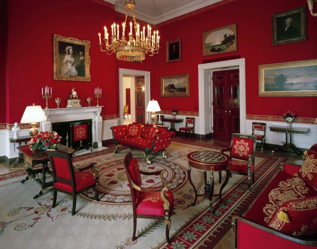 living room decoration pics.htm why does the white house have a red room  and how is it used  white house have a red room