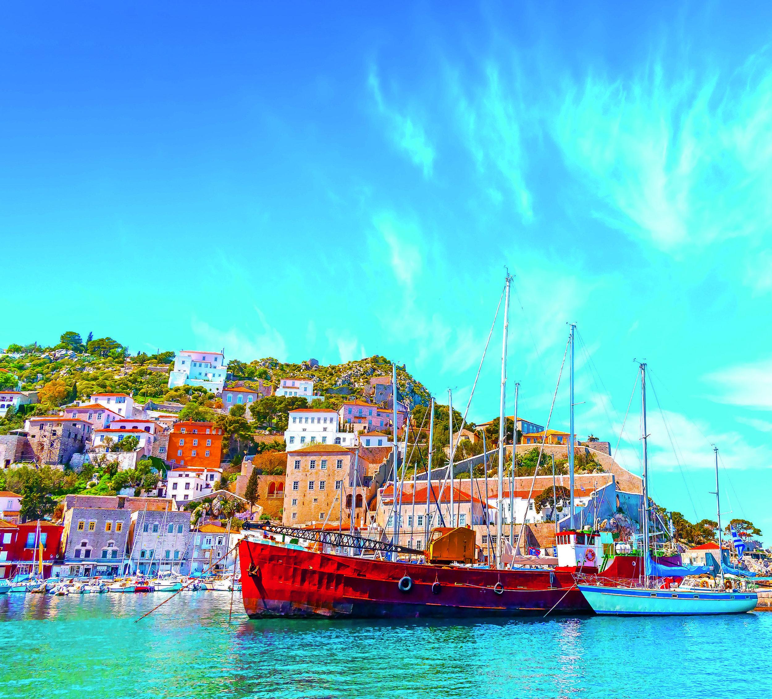 Foto barco Grécia