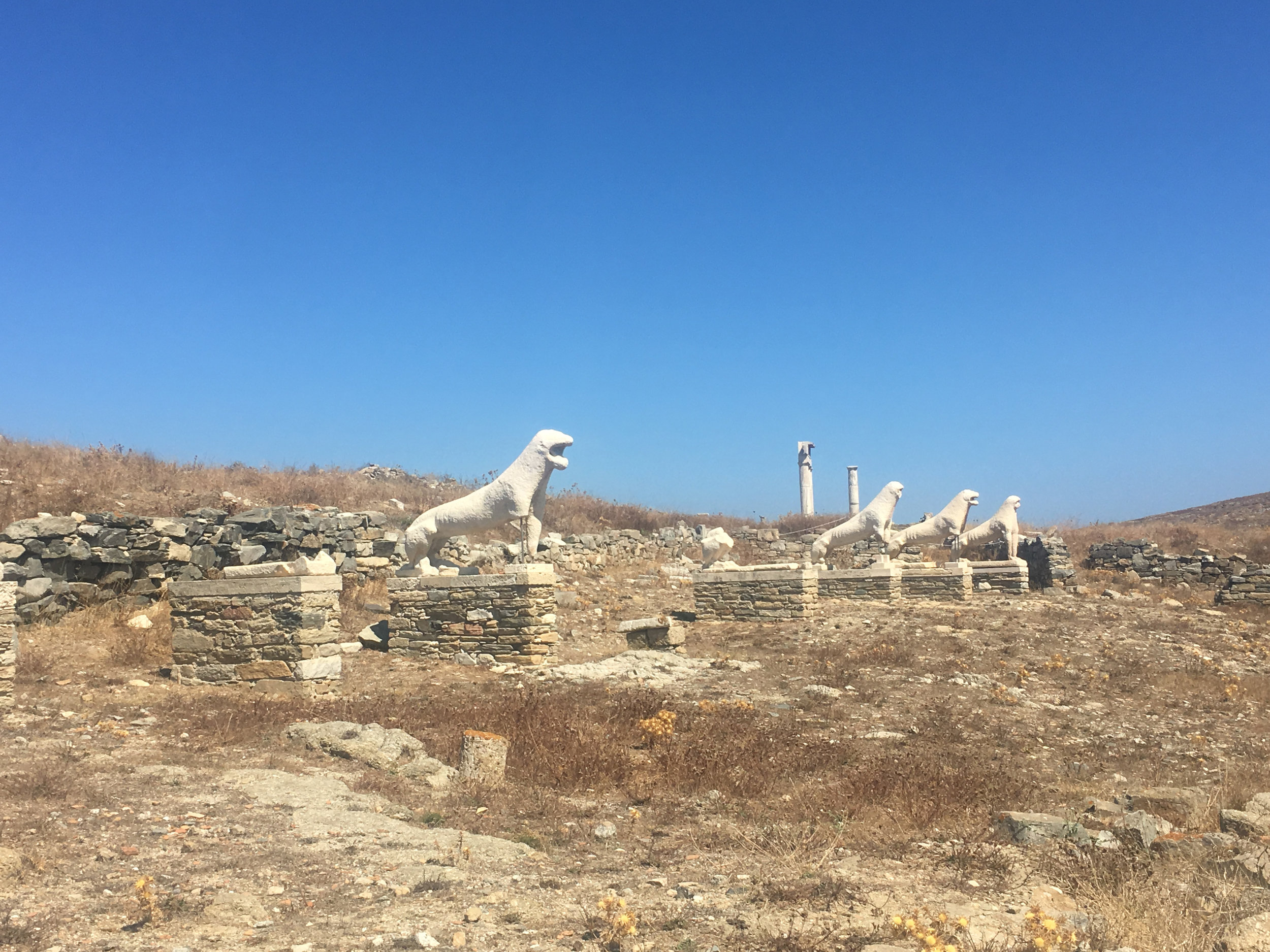 Foto ilhas gregas Delos charter de barco