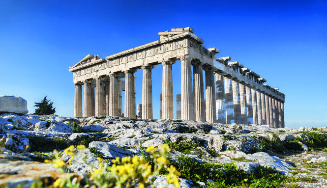 Foto ilhas gregas Acropoles charter de barco