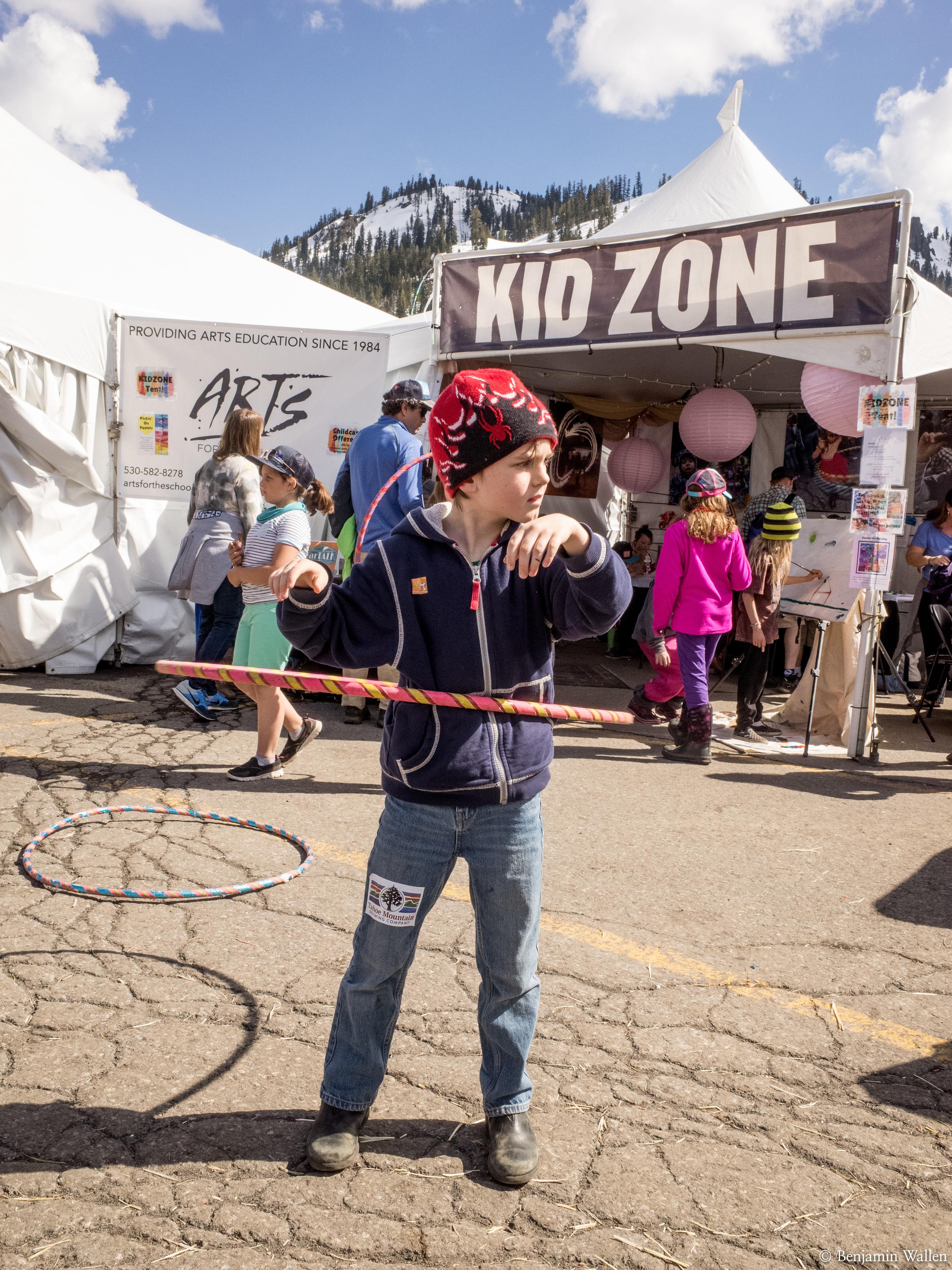 Super kid friendly festival, I love it.