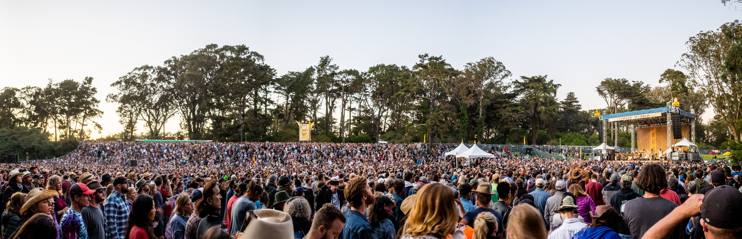 Hardly Strictly Bluegrass 2019, Towers of Gold Stage, Robert Plant