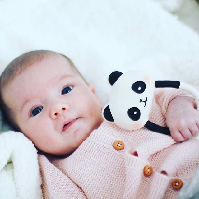 Coming this Summer, Kori the Panda Rattle Teether. Designed specifically for premature babies and newborn in collaboration with Wanatoy, a group of professionals based in Barcelona, Spain, specializing in early childhood development.