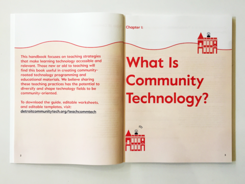 Detroit Community Technology Project Guidebook