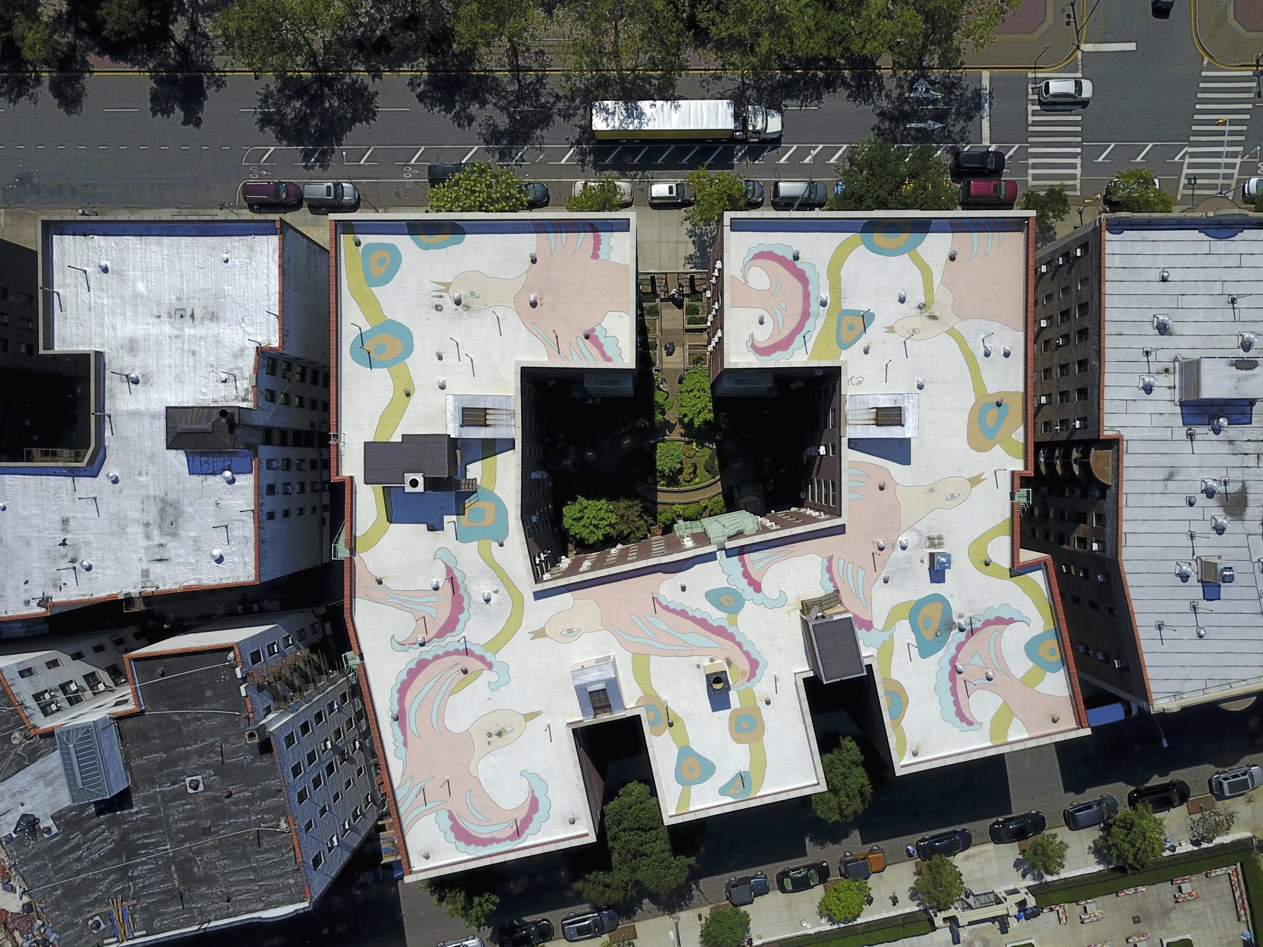 CoolRoof Mural on Andrews Avenue