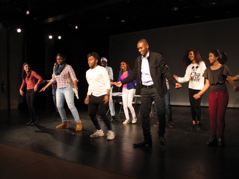 "Bronx Acting Ensemble   The Black Arts Movement was an amazing period of time that brought forth many artist; playwrights, actors, poets, visual artist, who created a body of work that spoke for the people who faced injustice. We explored Margaret Walker's poem, ""For my People"" and studied two scenes that take a look inside the heart, mind and community of people of color.    Read more..."