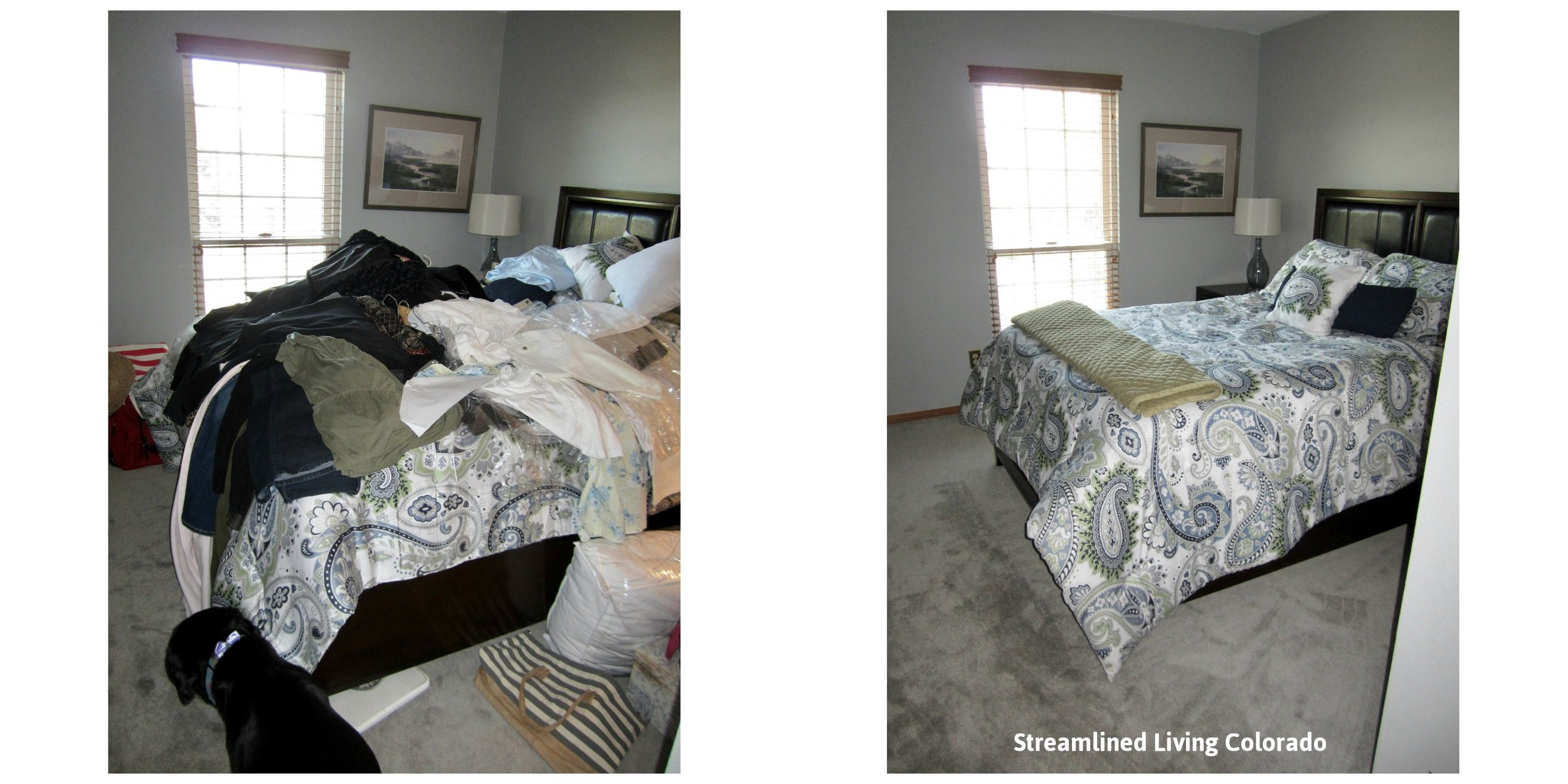 Castle Pines Guest Room 1 signed reorganized organized professional organizer purged purge donate donations Streamlined Living Colorado.jpg