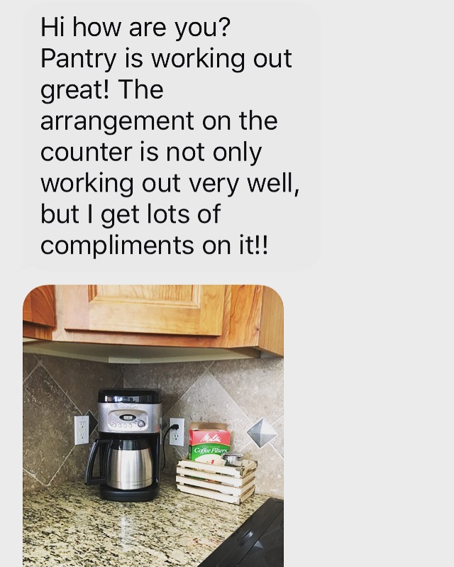 A message I received from a client after a recent session.