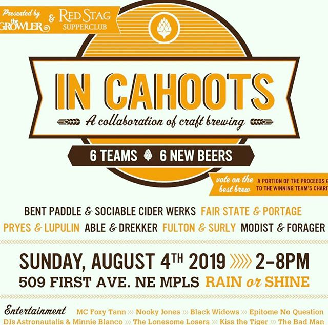 One of my  f a v o r i t e  block parties of the summer is TODAY!! @redstagmn Come check out all these awesome breweries mix it up (literally) , also we will be there with the truck 🍦.. Also it's OPen Streets NE so you really have no excuse :) @ablebrewery @pryesbrewing @fultonbeer @surlybrewing @fairstatecoop @modistbrewing @bentpaddlebeer @sociablecider