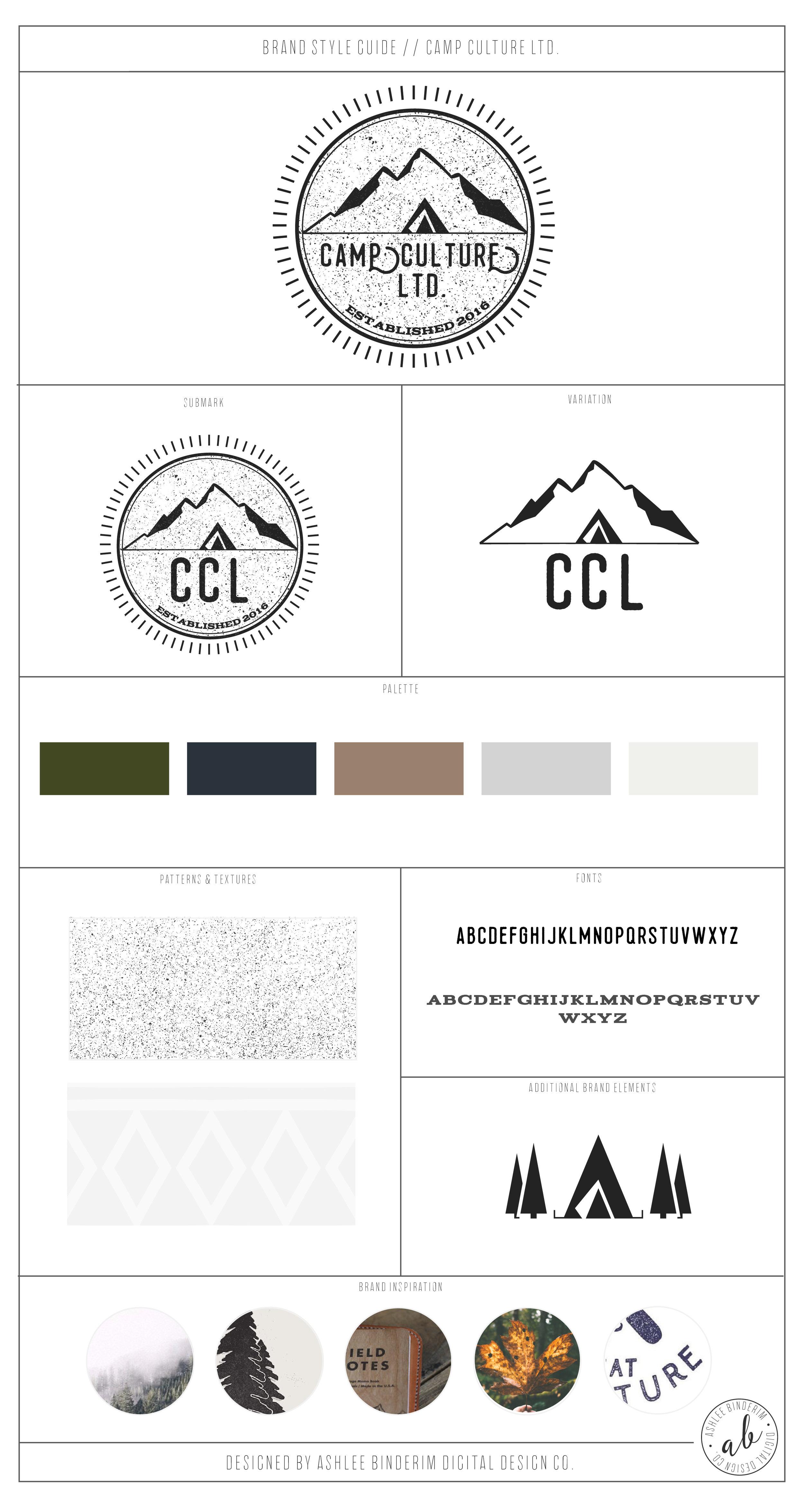 Brand Style Guide - Camp Culture LTD.