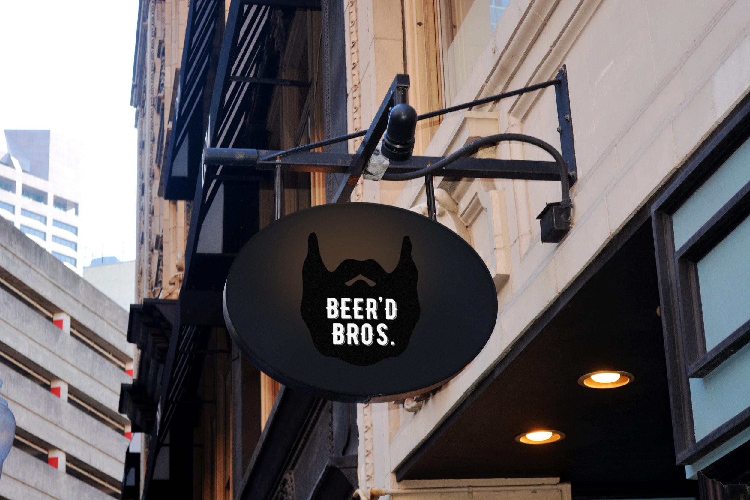 Beer'd Bros. Sign