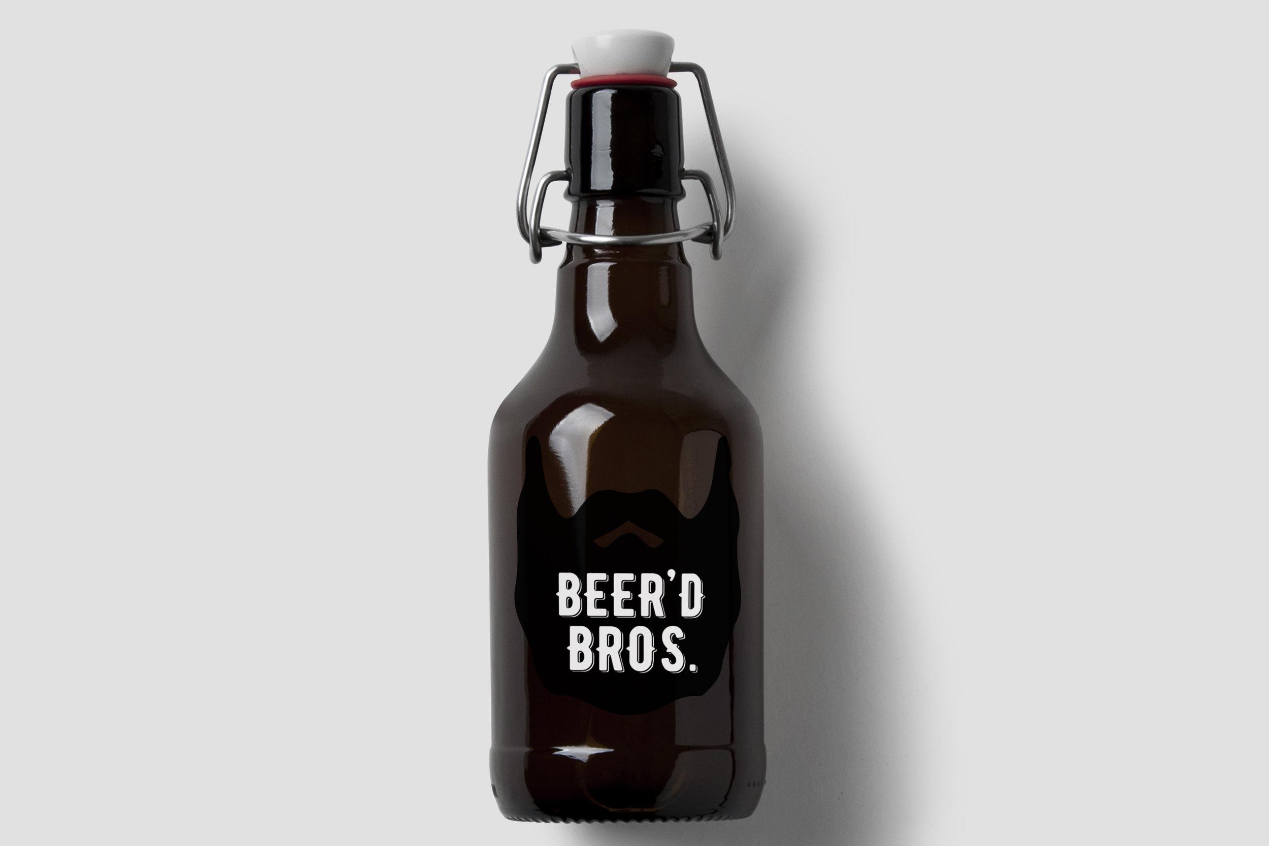 Beer'd Bros. Bottle