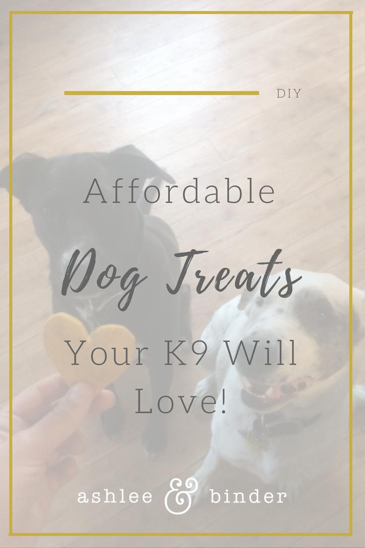 Dog Treats your K9 will love