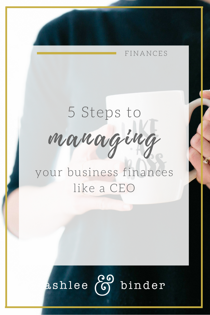 managing your business finances like a CEO