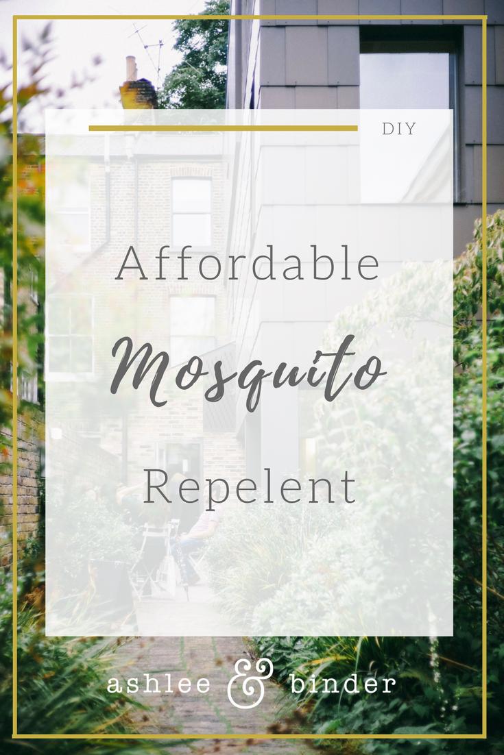 DIY mosquito repelent