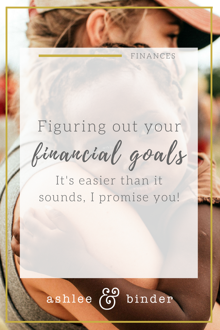 figuring your your financial goals
