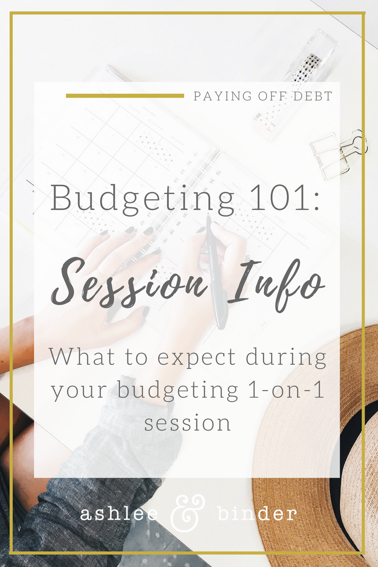 Budgeting 101: session info