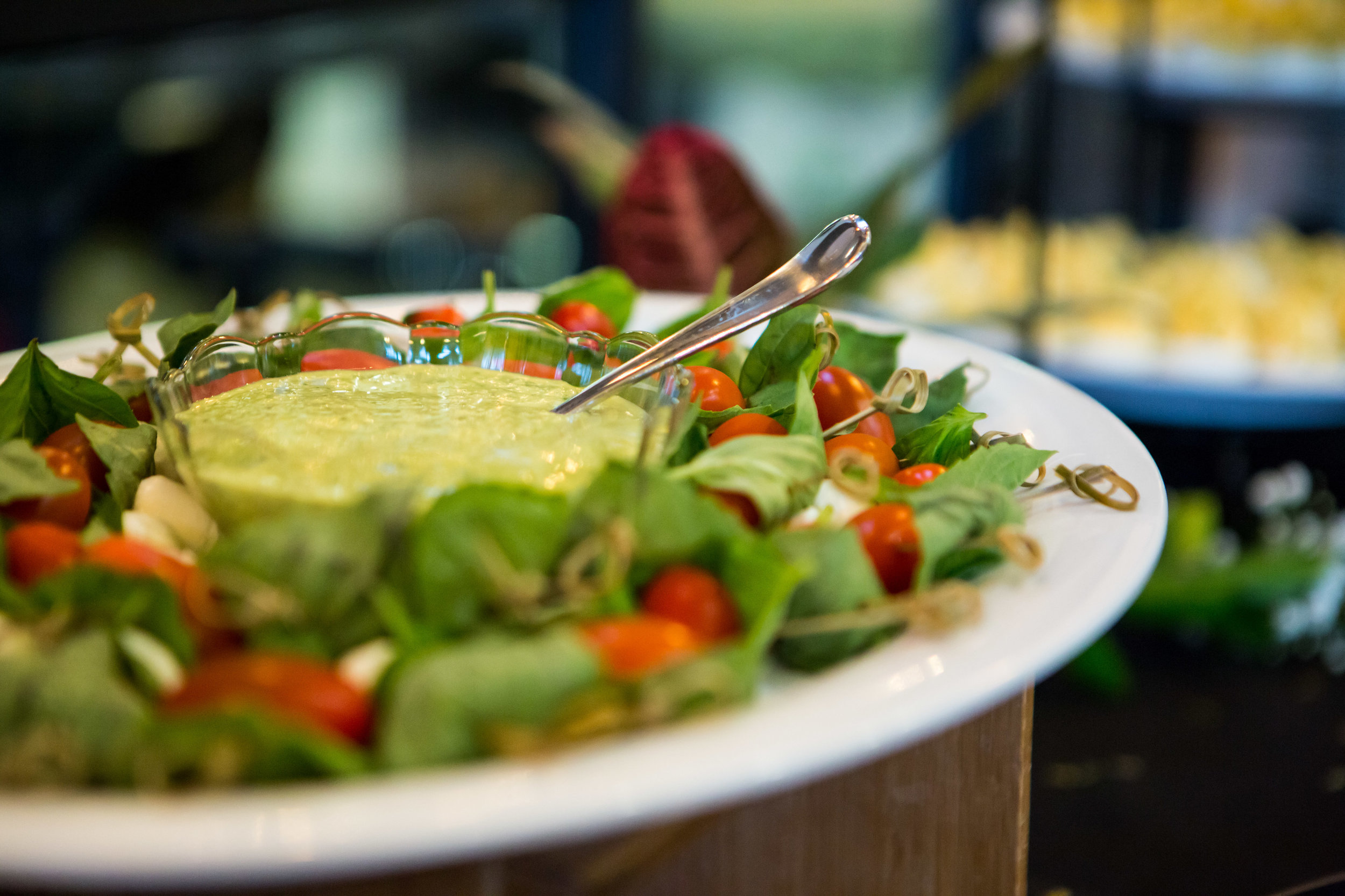 """Food & Bev Events - Food by Elephants Catering & Events from Nurture Realty's Client Appreciation Casino NightPhoto by Jeremy Running Photography""""If you really want to make a friend, go to someone's house and eat…The people who give you their food give you their heart"""" - Cesar Chavez"""