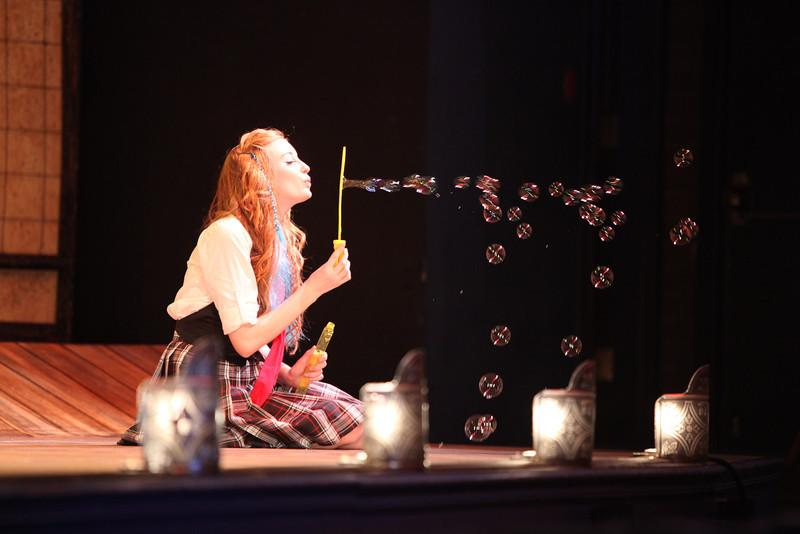 """Theater Arts - Willow Batson in the LaSalle College Prep production of The Mikado.""""All the world's a stage, And all the men and women merely players; They have their exits and their entrances, And one man in his time plays many parts."""" ~William Shakespeare"""