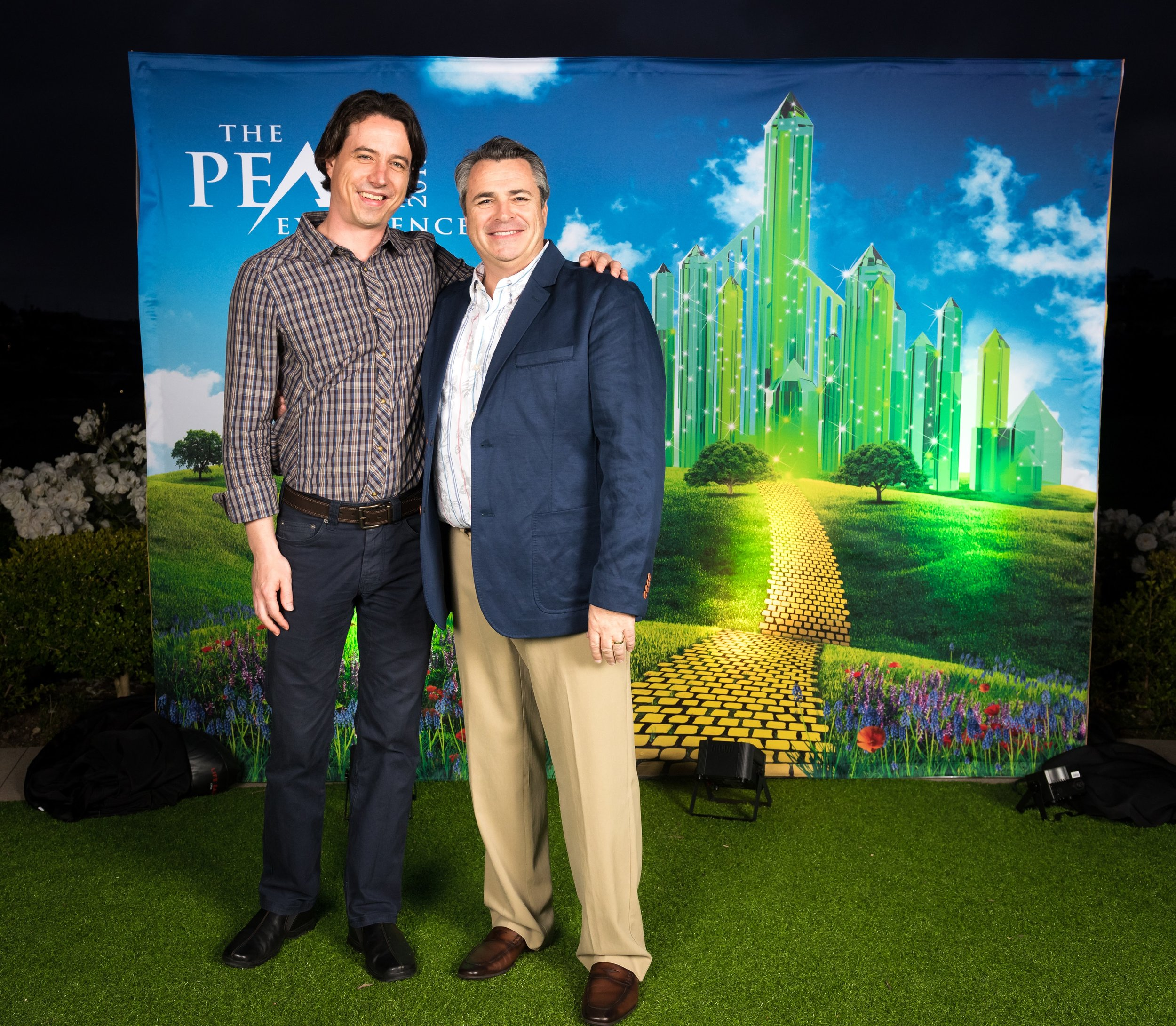 """Events for Business - Eric with his mentor, Brian Buffini, at the Peak Experience Real Estate Seminar.""""Successful people do what unsuccessful people are not willing to do. Don't wish it were easier; wish you were better."""" - Jim Rohn"""