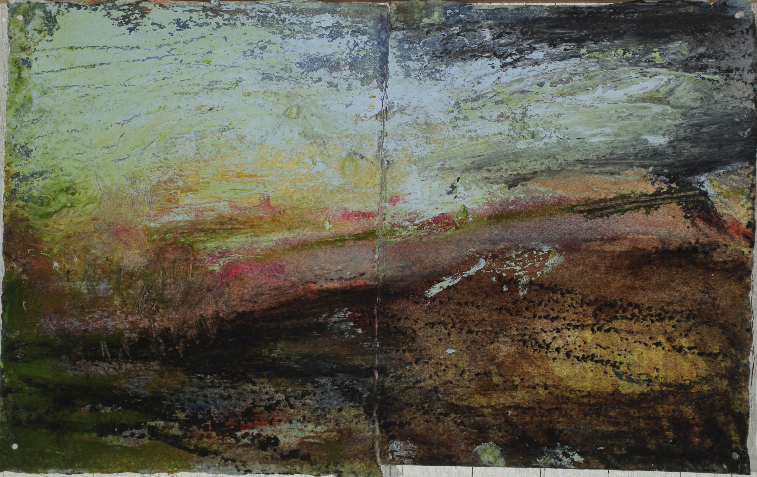 Study for (diptych)