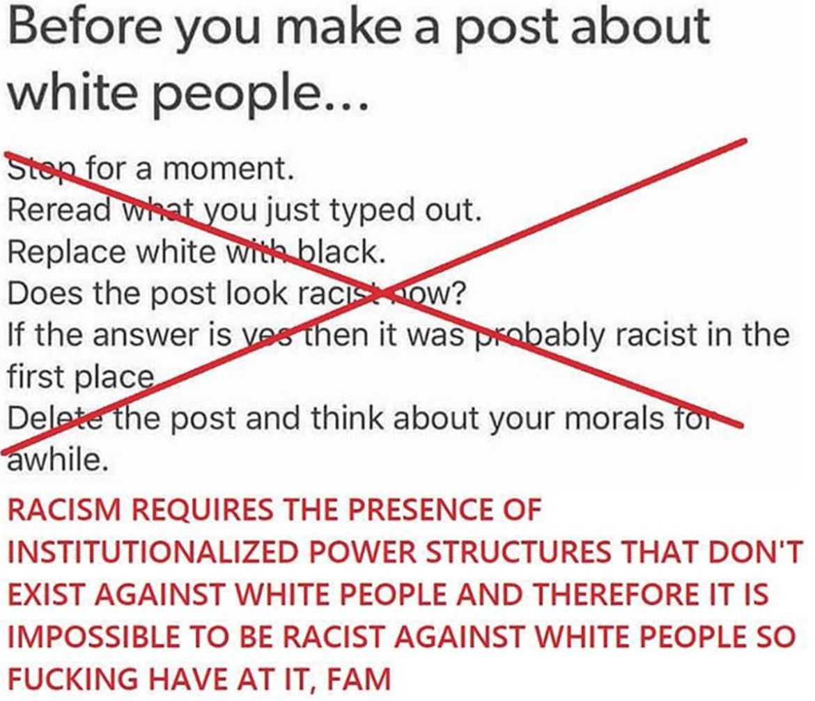 Reverse Racism Doesn't exist.png