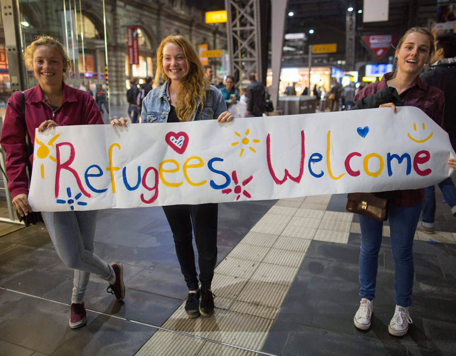 These scenes in Germany are not nearly as common as they were in 2015