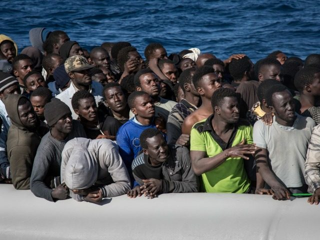 Mostly young sub-Saharan men are coming to Italy.